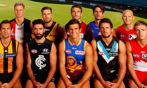 AFL 2014 Media - AFL Captains Photo Day